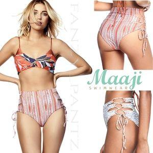 Maaji high waist bottoms tie side Breakfast Club L